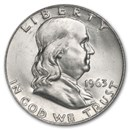 1963-D Franklin Half Dollar BU