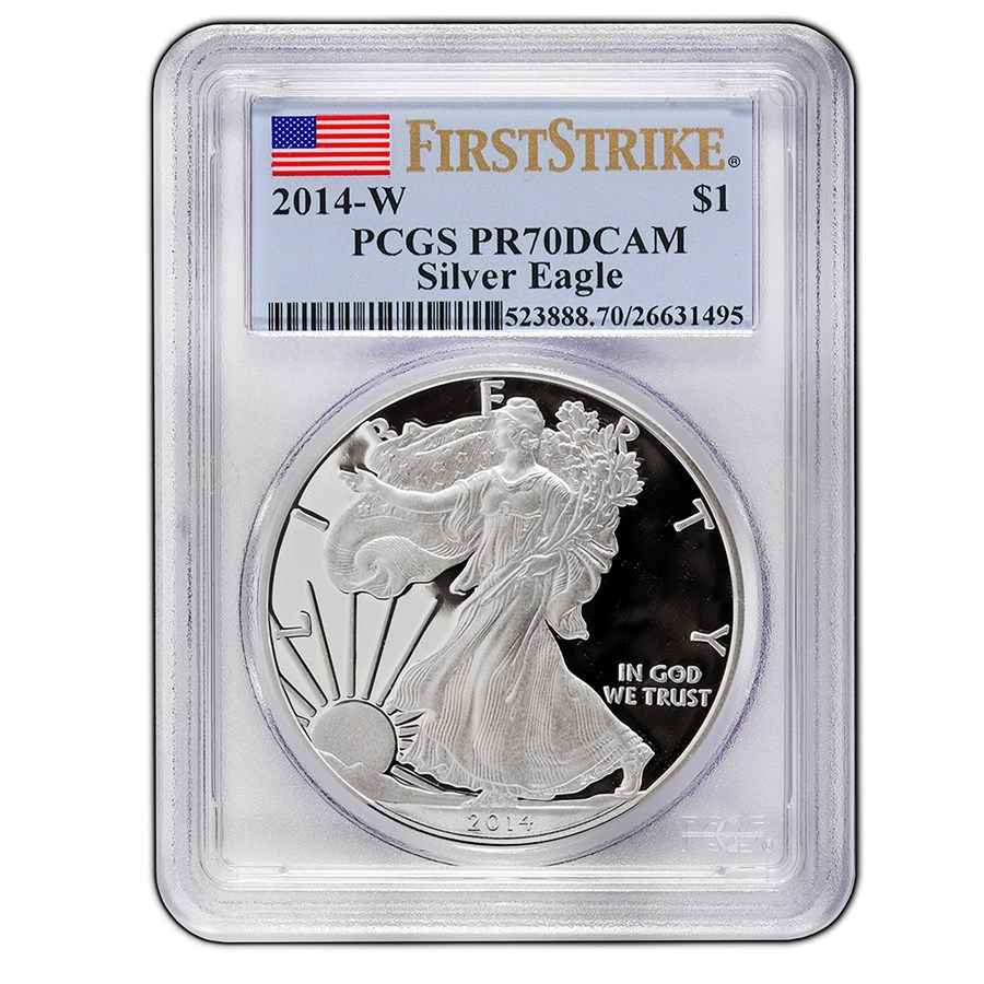 2014-W Proof Silver American Eagle PR-70 PCGS (FirstStrike®)