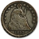 1857 Liberty Seated Half Dime VG