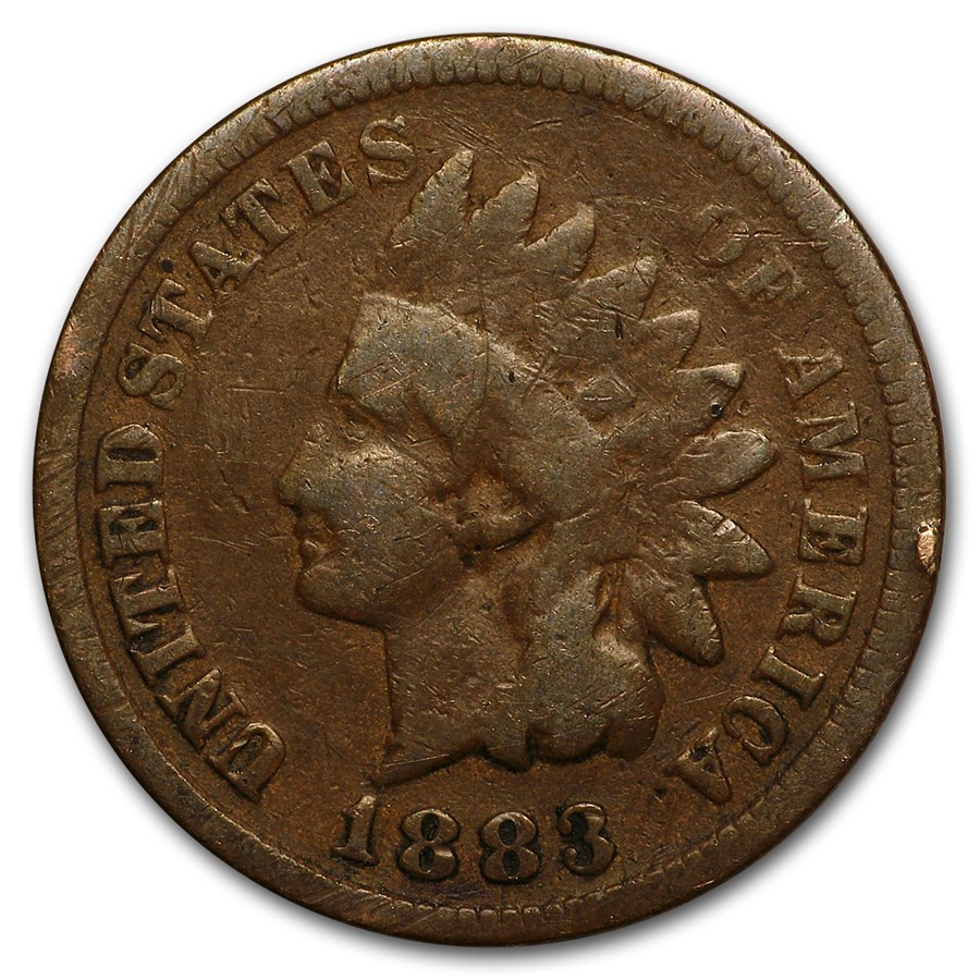 1883 Indian Head Cent Good+