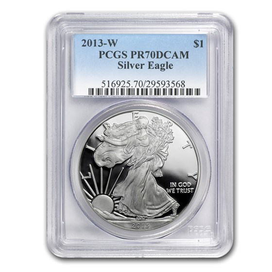 2013-W Proof Silver American Eagle PR-70 PCGS