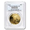 1 oz Proof Gold American Eagle PR-69 PCGS (Random Year)