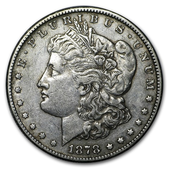 1878-S Morgan Dollar XF