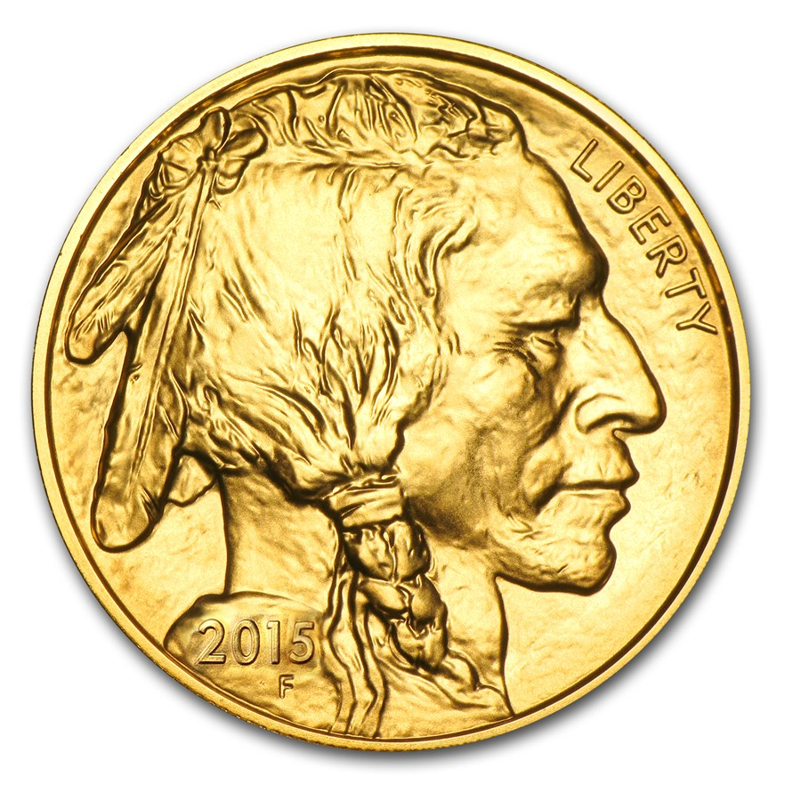 2015 1 oz Gold Buffalo BU Coin