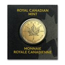 1 gram Gold Maple Leaf - Maplegram 25™ (In Assay) (Random Year)