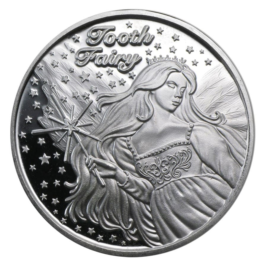 1 oz Silver Round - Tooth Fairy