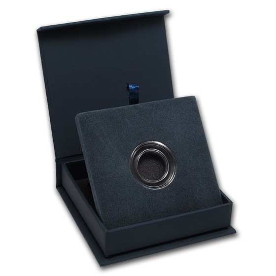 APMEX Gift Box - Includes 19 mm Direct Fit Air-Tite Holder