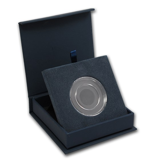 APMEX Gift Box - Includes 27 mm Direct Fit Air-Tite Holder