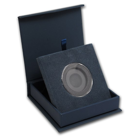 APMEX Gift Box - Includes 31 mm Air-Tite Holder with Gasket