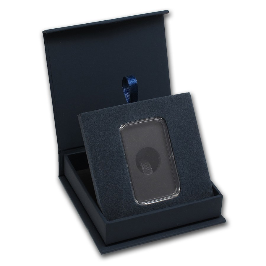 APMEX Gift Box - 1 oz Silver Bar (w/Air-Tite Capsule)