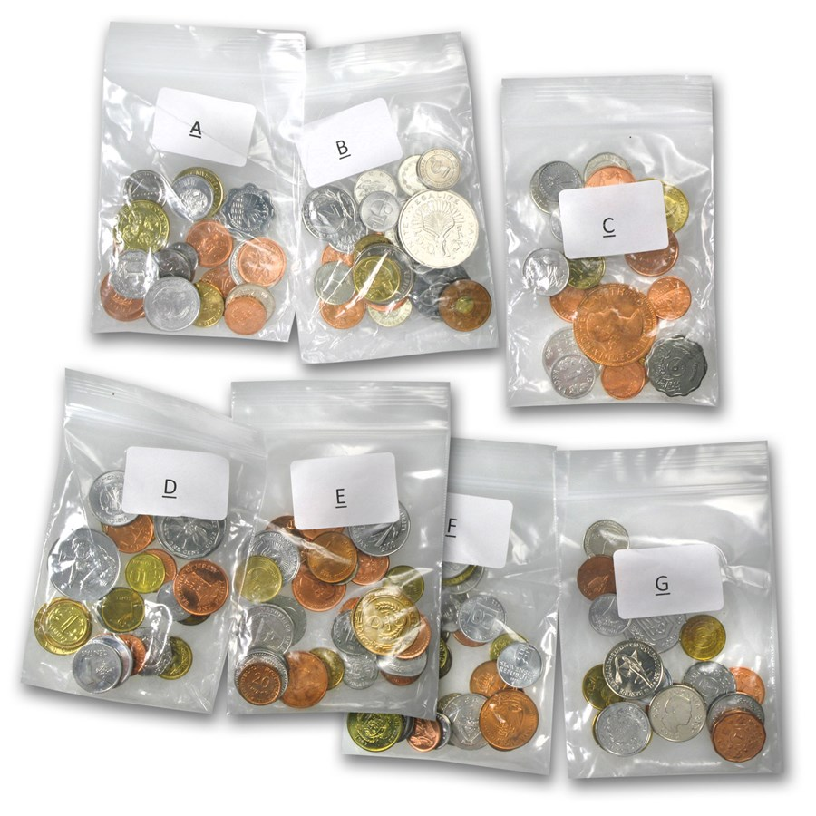 World Set 170-Coins of 170 Countries