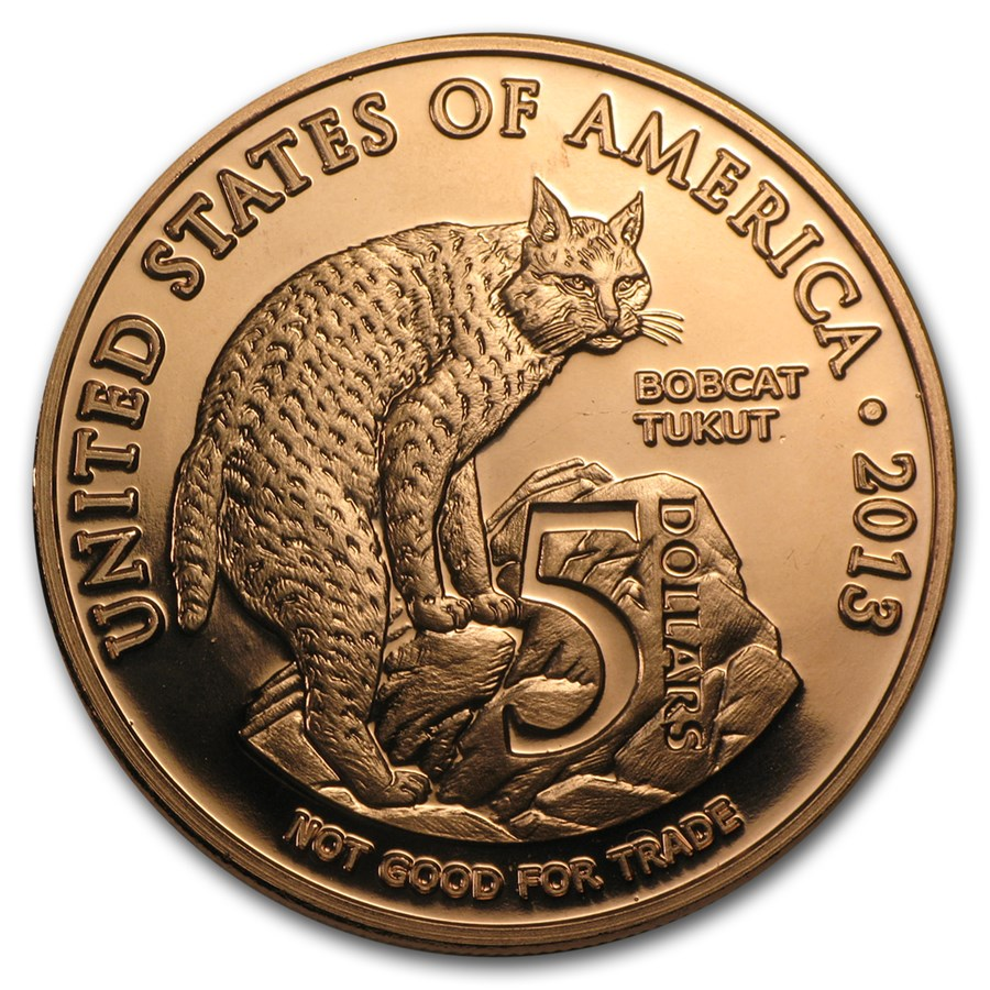 1 oz Copper Round - $5.00 Native American Los Coyotes