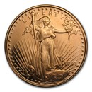 1/2 oz Copper Round - Saint-Gaudens (20 count tube)