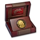 2015-W 1 oz Proof Gold Buffalo (w/Box & COA)