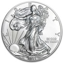 2015-W Burnished Silver American Eagle (w/Box & COA)