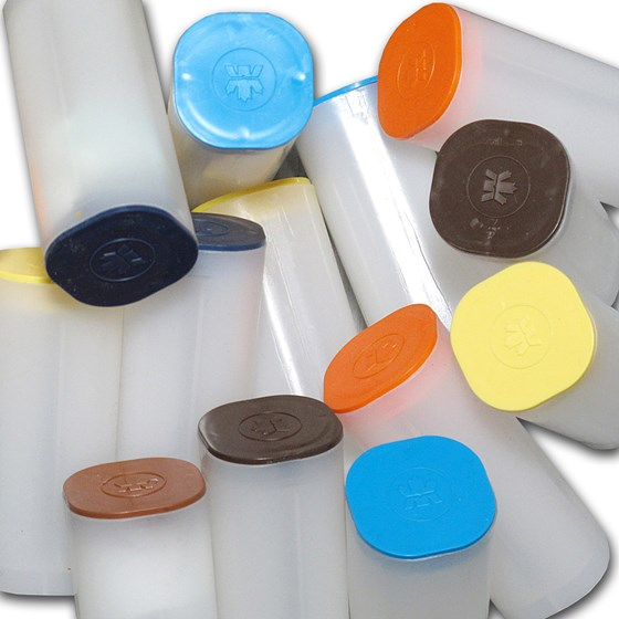 RCM Silver Maple Leaf/Wildlife Coin Tubes (Random Color Top)