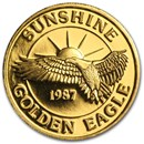 1 oz Gold Round - Sunshine Minting/Mining (Golden Eagle)