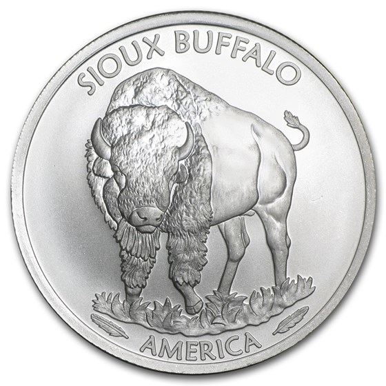 2015 1 oz Silver Native American Mint $1 Sioux Indian BU
