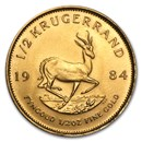 1984 South Africa 1/2 oz Gold Krugerrand