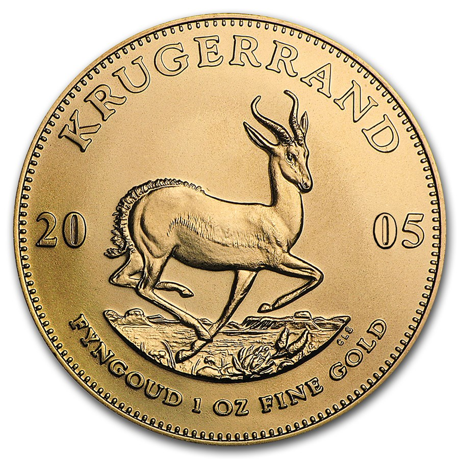 2005 South Africa 1 oz Gold Krugerrand BU
