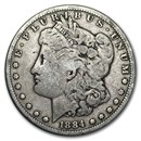 1884 Morgan Dollar VG/VF
