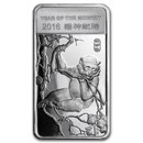 1/2 oz Silver Bar - APMEX (2016 Year of the Monkey)
