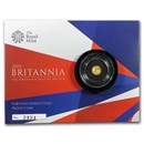 2015 Great Britain 1/40 oz Proof Gold Britannia