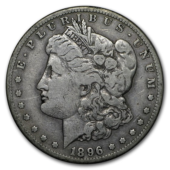 1896-S Morgan Dollar VG