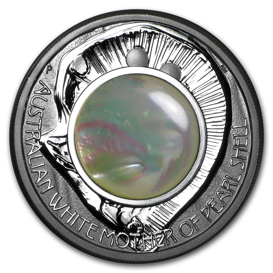 2015 Australia 1 oz Silver Mother of Pearl Shell Proof