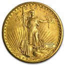 $20 Saint-Gaudens Gold Double Eagle VF (Random Year)