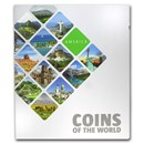 Coins of the World - America (35 coins)