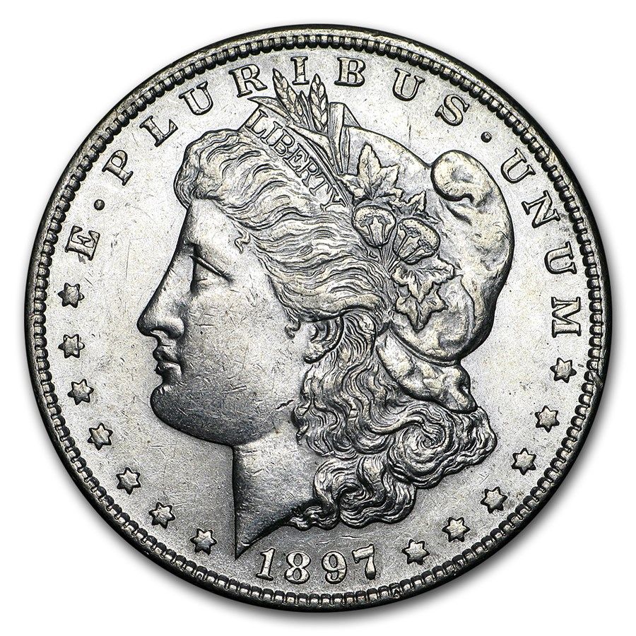1897-S Morgan Dollar AU