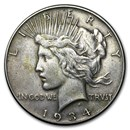 1934 Peace Dollar VG/VF