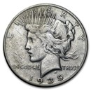 1935-S Peace Dollar VG/VF
