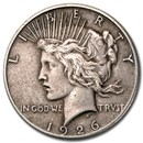 1926 Peace Dollar XF