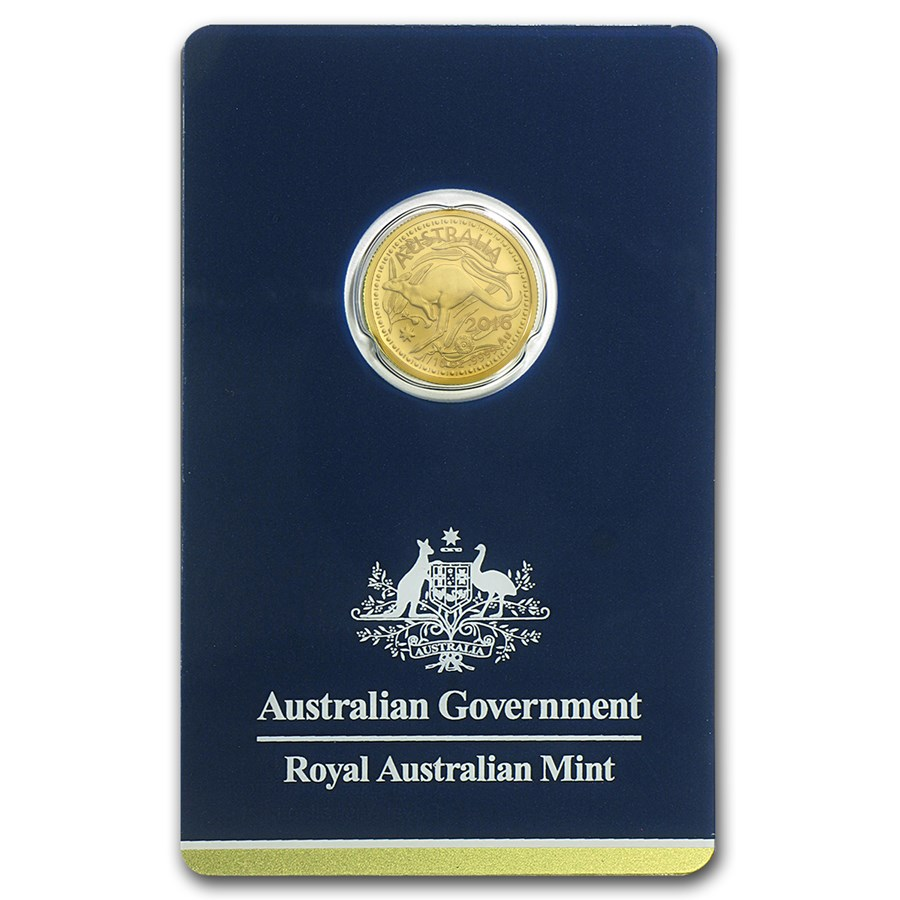 2016 Australia 1/10 oz Gold RAM Kangaroo (In Assay)