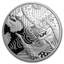 2016 Canada 2 oz Silver $30 Pop Art: Celebrating the Canada Goose