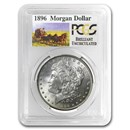 1896 Stage Coach Morgan Dollar BU PCGS