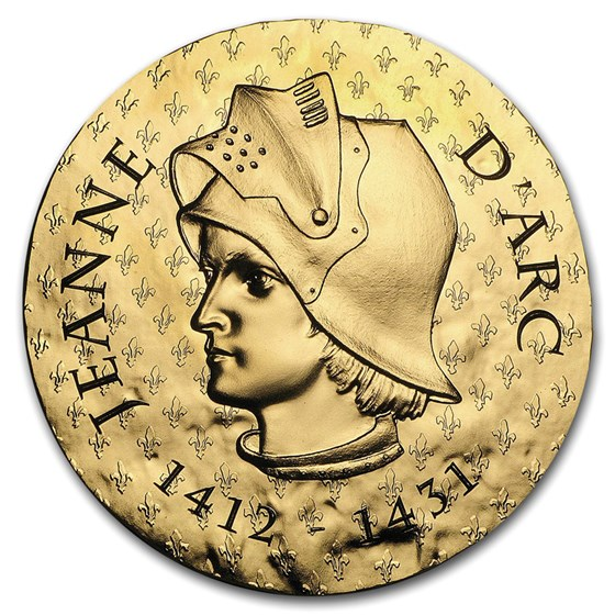 2016 1 oz Proof Gold €200 Women of France (Joan of Arc)