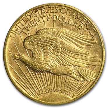 Saint-Gaudens $20 Gold Coin (1907-1933)