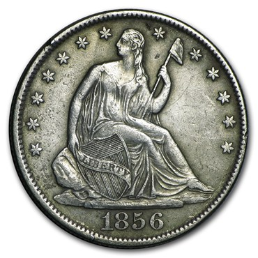 Seated Liberty Half Dollar (1839-1891) obverse
