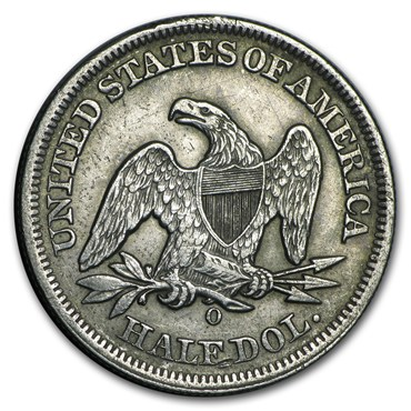 Seated Liberty Half Dollar (1839-1891)