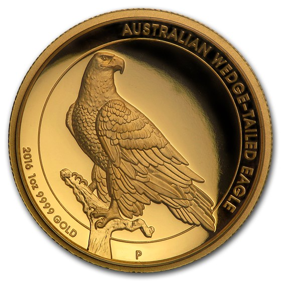2016 Australia 1 oz Gold Proof Wedge Tailed Eagle (High Relief)
