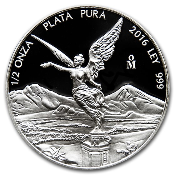 2016 Mexico 1/2 oz Silver Libertad Proof (In Capsule)