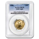1996 1/4 oz Gold American Eagle MS-70 PCGS