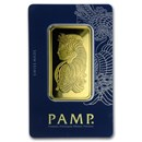 50 gram Gold Bar - PAMP Suisse Fortuna Veriscan (In Assay)