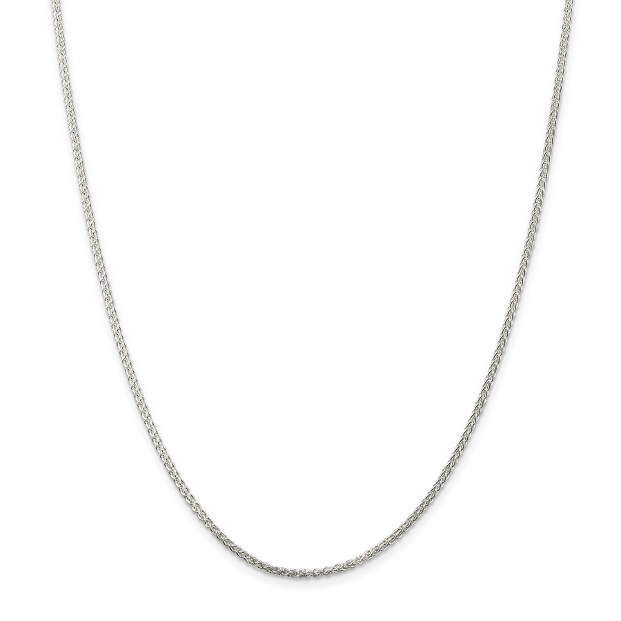 Sterling Silver 1.75 mm Round Spiga Chain - 18 in.