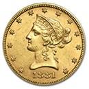 10-liberty-eagle-coins-1838-1907