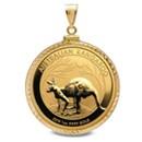 australian-gold-kangaroo-nugget-pendants