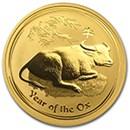 australian-gold-lunar-ox-coins-2009-1997